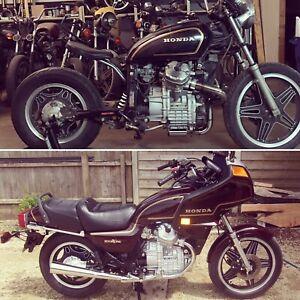 Honda CX 500 1980 Bike Cover Blue//White 8226631