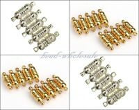 Wholesale 10 Sets Oval Strong Magnetic Clasps Jewelry Making Findings