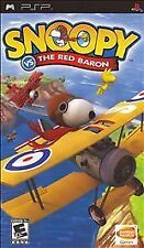 BRAND NEW SEALED PSP -- Snoopy vs. The Red Baron (Sony PSP, 2006)