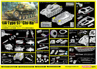 "DRAGON 6875 1/35 SCALE IJA Type 97""Chi-Ha"" 57mm Turret and NEW HULL 2019 NEW"