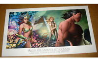 ASPEN TRIUMVIRATE DF EXCLUSIVE LITHOGRAPH by Michael Turner Soulfire SEALED !!!!