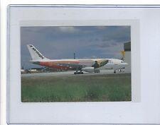 Air Niugini airlines Airbus A300 Cornwall pub. cont/l postcard