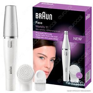 Braun Face 810 Facelift Epilatore Donna per Viso con Spazzola di Pulizia Faccia