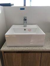 Ceramic Wash Basin Bathroom Sink Unit Square Above Counter Top Vanity AAA K311