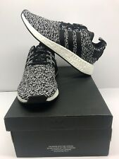 New Adidas NMD R2 Men's Size 10 B22631 Black And White Free Shipping !!