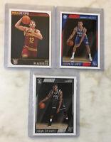 Brooklyn Nets CARIS LEVERT TIMOTHE LUWAWU-CABARROT JOE HARRIS Rookie Card Lot