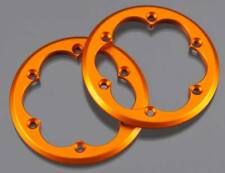 New Axial XR10,Wraith 2.2 VWS Machined Beadlock Ring Set Orange (2PCS) AX08132