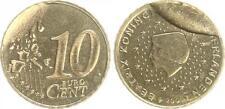 niederlande 10 cent 2001 fehlprägung mit zerbrochenem stempel geprägt (1) prfr