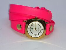 La Mer Collections Neon Pink Wrap Watch Special Edition Timepieces by Adventure