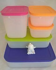 5x Eis-Kristall-Set Gefrierbehälter Eiskristalle Tupperware