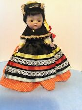 Nancy Ann Muffie Doll International Series Peru Orig Name Tag