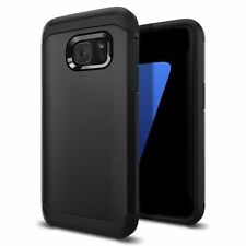 """Quality Armor Case for Samsung Galaxy S8 (5.8"""") Shock Proof Back Cover Black"""