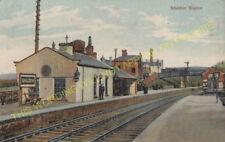 Shildon Railway Station Photo. Bishop Auckland to Heighington and Stockton. (8)