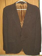Vintage Levi's 44R Action Suit Sportswear Brown Jacket Blazer Tailored For Men