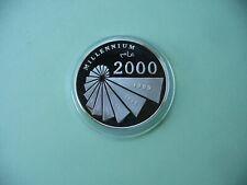Saharaui 1000 Pesetas 2000 PP Silber Millennium 2000