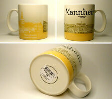 ▓#▓ Starbucks City Mug Icon MANNHEIM * Germany Tasse 16oz NEW with SKU  ▓#▓