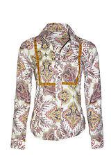 Camicia ROY ROGER'S in velluto profili a contrasto made in Italy in OFFERTA