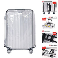 Transparent PVC  Luggage Case  Cover Waterproof and Wearable Wide 18-30NWUS