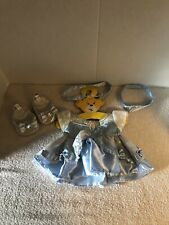 Build-A-Bear Disney PRINCESS CINDERELLA DRESS & Shoes