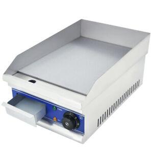 Grillplatte Bratplatte Griddleplatte Elektrische Grillplatte Gastro Profi 2KW
