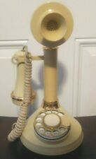 Vintage 1973 Rotary Candlestick Phone American Telecommunication/ Western Elect.