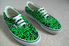VANS ERA 59 Van Doren Tribal Black Green Skate Shoes TRAINERS  UK 3.5 EU 36