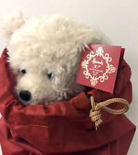 2015 Harrods 30th Anniversary Edition Christmas Teddy Bear Benedict in Dust Bag