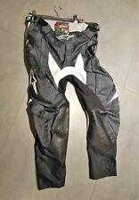 Pantalon Alpinestars Techstar Enduro Moto Cross  Noir Gris - L -