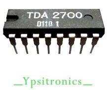 TDA 2700 INTEGRATED CIRCUIT VIDEO DECODER DIP 16 D118 - NEW