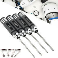 4x Hex Screwdriver Screw Driver Tool Kit For RC Car Helicopter  Drone Aircraft