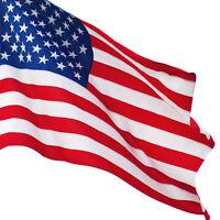 American US 3X5 Flag Nylon Polyester Stripes Stars Brass Grommet
