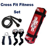 Weight Filled Sand Power Bag Training MMA Strength Home Fitness Crossfit 0-25kg