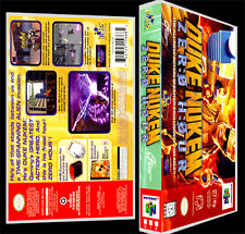 Duke Nukem Zero Hour - N64 Reproduction Art Case/Box No Game.