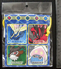 Pokemon XY Dice Bag (S) Xerneas Yveltal and Friends Pokemon Center 15 x 13 cm