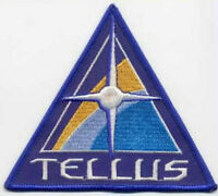 SAAB  Space: Above & Beyond Embroidered Iron-On Patch -  Tellus Colony