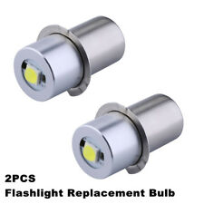 LED Upgrade Bulb P13.5S 1W Maglite D C cell Flashlights Replacement Bulb 3V 6V