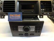 Vauxhall Vectra C CD30 Radio CD Player + Clock Display / Gun Metal Grey 13233926