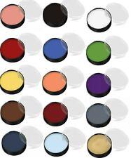 Mehron Makeup Color Cup Foundation Creme Clown Mardigras Color Halloween Choose!