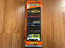 MATCHBOX 5 PACK GIFT SET AIRWAYS MATTEL WHEELS