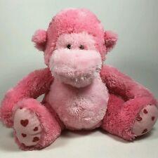 """Russ Pink Coby Monkey 10"""" Plush Stuffed Animal"""