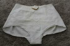 Vtg girdle Nwt Solange Firm Control White Panty Panties Briefs Size 44