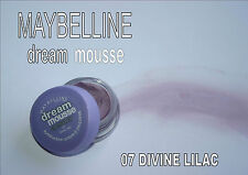 MAYBELLINE DREAM MOUSSE eye colour DIVINE LILAC 07