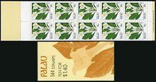 Palau 130a booklet,MNH. Indigenous Flowers,1987.