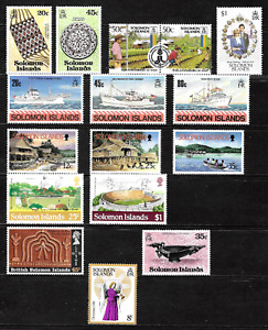 Solomon Islands .. Superb collection of unmounted mint stamps  .. 5022