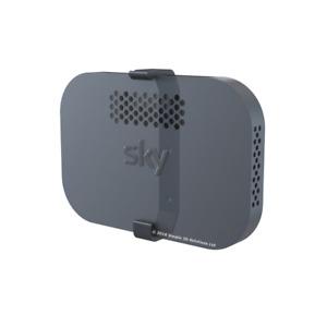 SKY Q Wireless Hub WALL BRACKET-SKY Q Internet Router WALL MOUNT NEW W/Fixings