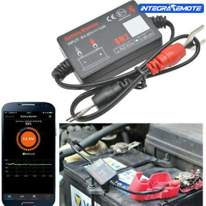 12V Car Batterie Monitor bluetooth BM2 Spannungsmesser Battery Tester Analysator