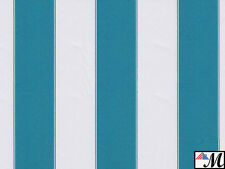 "Canvas Awning Fabric STRIPED OUTDOOR FABRIC 60"" Wide 600 Denier By the Yard"