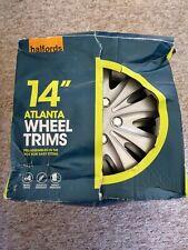 """Halfords 14"""" Wheel Trims In Box VGC"""