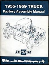 1955-59 Chevrolet Pickup Assembly Manual 55 56 57 58 59