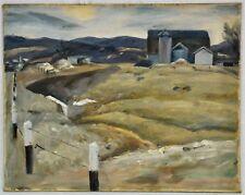 """Richard Bassett (Massachusetts, 1900 - 1995) """"Framingham Landscap (BI#MK/180517)"""